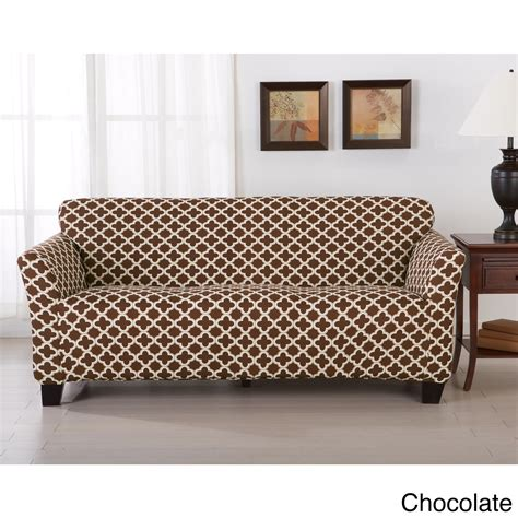 Patterned Loveseat by 26 Beautiful Patterned Sofa Slipcovers Graphics