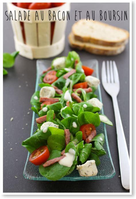 salade de pates au boursin moi gourmande salade au bacon et au boursin