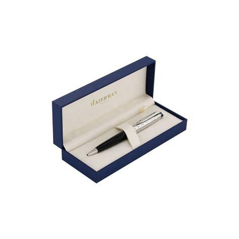 bureau d馭inition stylo à bille waterman expert deluxe métal noir