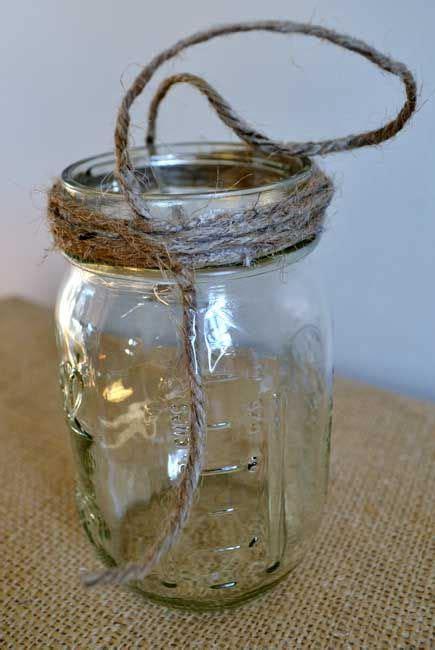 hanging mason jars  tutorial hanging mason jars
