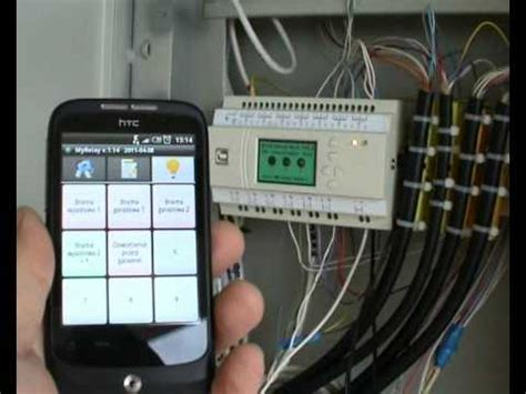 intelligent house programmable relay plc pc android home automation