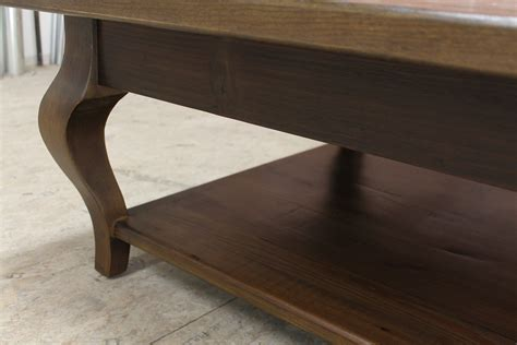 Our farmhouse coffee tables are entirely made to the style of our lovely customers. 42inch Square Farmhouse Coffee Table - ECustomFinishes