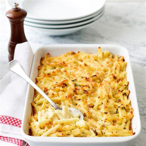 cuisiner pour pas cher gratin de pâtes facile et pas cher recette sur cuisine actuelle