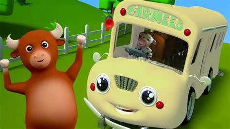 Các Bánh Xe Trên Xe Buýt Bài Hát Xe Buýt Cho Trẻ Em Vần điệu Cho Trẻ Sơ Sinh Wheels On The