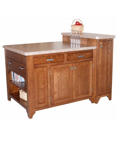 space saving kitchen islands space saver kitchen island amish direct furniture 5636