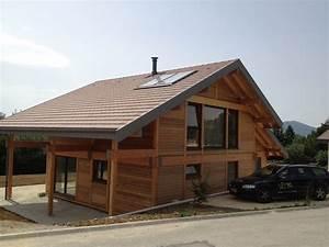 Ossature Bois Maison : constructeur maison ossature bois haute savoie ~ Melissatoandfro.com Idées de Décoration