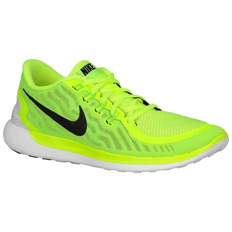 New Nike Free Mens Running Trainers Volt Electric