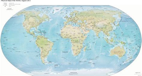 Ģeogrāfiskā karte - Pasaule - 5,545 x 3,007 Pikselis - 2.8 ...