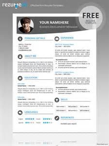 Hongdae Modern Resume Template