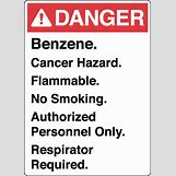 Danger Flammable Sign | 400 x 560 jpeg 44kB