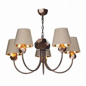 Copper geometric light ceiling pendant taupe lighting and lights