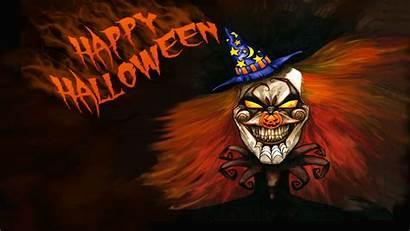 Halloween Clown Happy