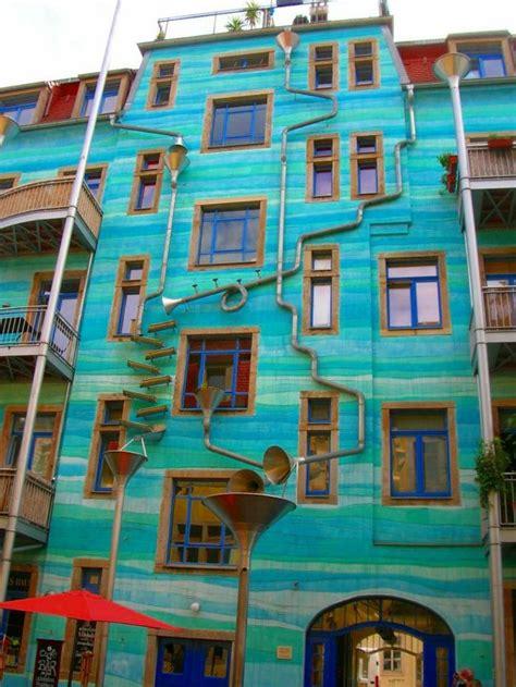 hausfassade streichen ideen hausfassade streichen bringen sie alle regenbogenfarben zum einsatz