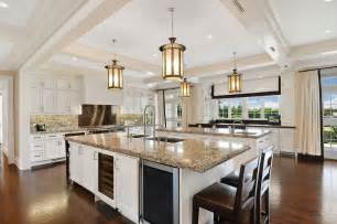 Light Pendants Kitchen Islands 27 Luxury Kitchens That Cost More Than 100 000