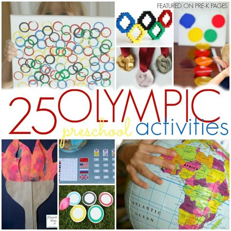 activities to celebrate the olympics with preschool pre 714 | olympic square