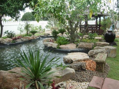 Waterfall Garden & Features  Thai Garden Design