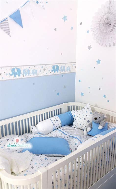 Babyzimmer Wandgestaltung Elefant by Elefanten In Blau Grau Bei Fantasyroom Kaufen In