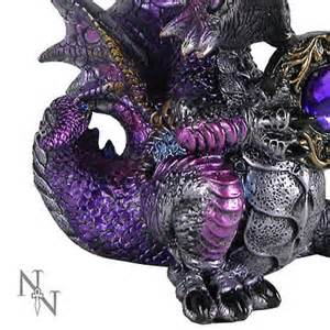 Amethyst Dragon Figurine