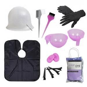 Hair Dye Coloring Tool Kit-Highlighting Cap, Hook, Brush