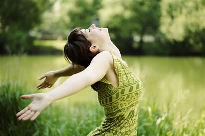 Power Positivity Carefree Lifestyle Female Mind Medicine