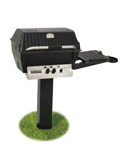 gas broilmaster ground natural shelf side grill piece deluxe package grills
