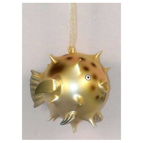 tropical puffer fish blowfish christmas tree ornament ebay