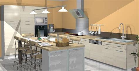 exemple cuisine ouverte s駛our best modele agencement cuisine pictures antoniogarcia info antoniogarcia info