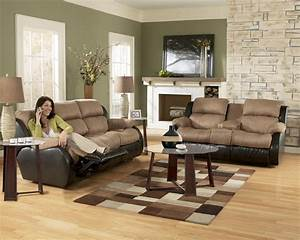 ashley furniture presley 31501 cocoa living room set With living room sets