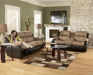 ashley furniture presley 31501 cocoa living room set With living room set