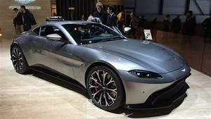 Nouvelle Aston Martin : aston martin vantage magn tisme vid o en direct du salon de gen ve 2018 ~ Maxctalentgroup.com Avis de Voitures