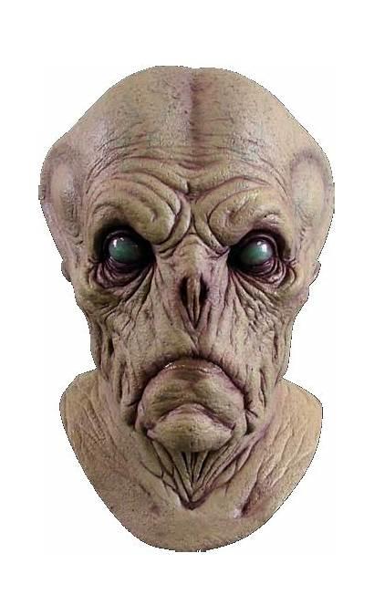 Alien Mask Masks Halloween Realistic Horror Probe