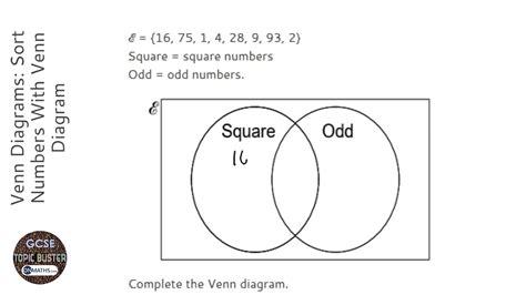 venn diagrams sort numbers with venn diagram grade 4