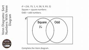 Venn Diagrams  Sort Numbers With Venn Diagram  Grade 4