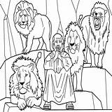 Den Daniel Lions Coloring Lion Printable Lesson Printables Pages Amazing Getdrawings Getcolorings sketch template