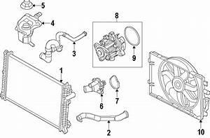 Ford Fusion Radiator Coolant Hose  2 5 Liter  Fusion