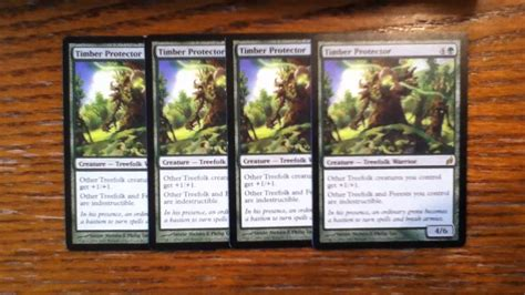 Treefolk Deck Mono Green by Mtg Quot Angry Orchard Quot Treefolk Deck