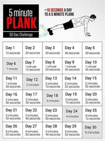 5 Minute Plank 30-Day Challenge