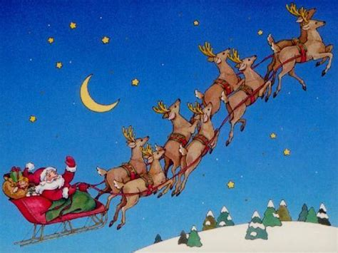 flying reindeer and santa claus fact fiction and myth