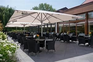 Parasol De Terrasse : big ben avec chauffage et clairage caravita parasols exclusifs ~ Teatrodelosmanantiales.com Idées de Décoration