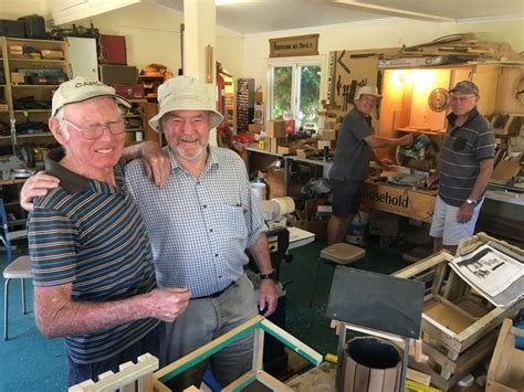 menz shed menz shed nears funds target central otago news
