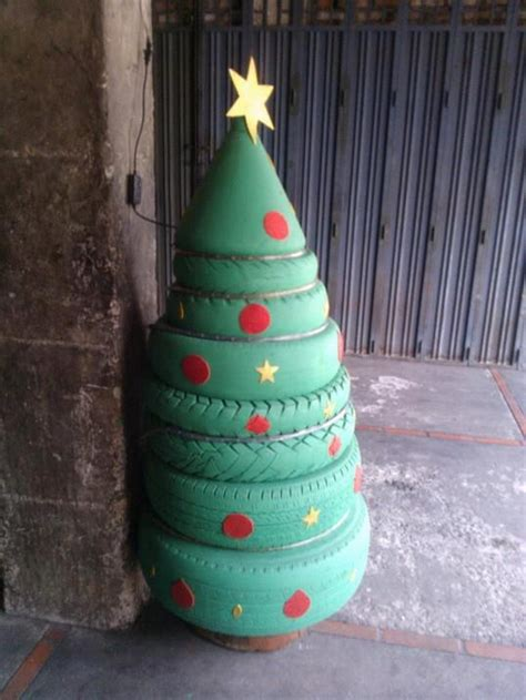 tire christmas tree  projectsatobn