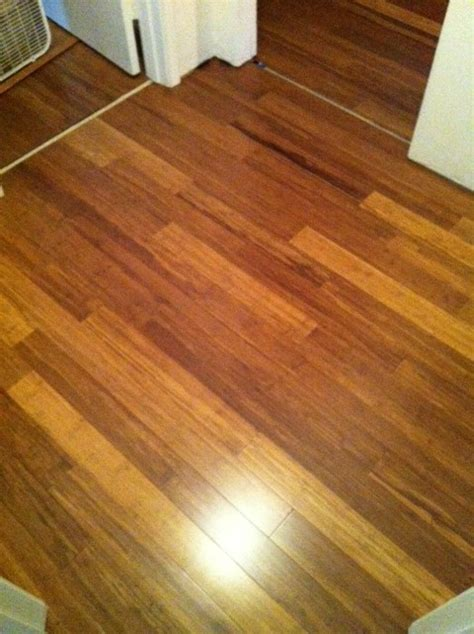Carbonized Strand Bamboo Flooring by Carbonized Strand Woven Bamboo Flooring For The Home