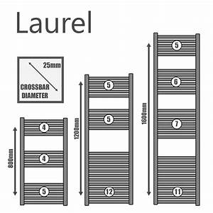 Laurel Elements Square Tube Heated Towel Rail