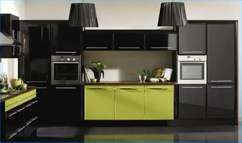 black and lime green kitchen lime green black kitchen decor ideas black 7837