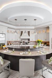 interesting circle kitchen plan A Guide to 6 Kitchen Island Styles