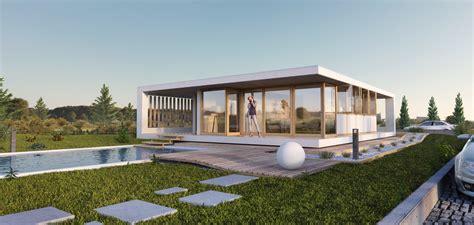McCube Modulhaus Premium mit Pool - McCube - Häuser zum