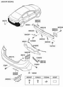 Hyundai Elantra Grommet