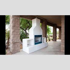 Rtf Modular Outdoor Fireplace Kit Youtube