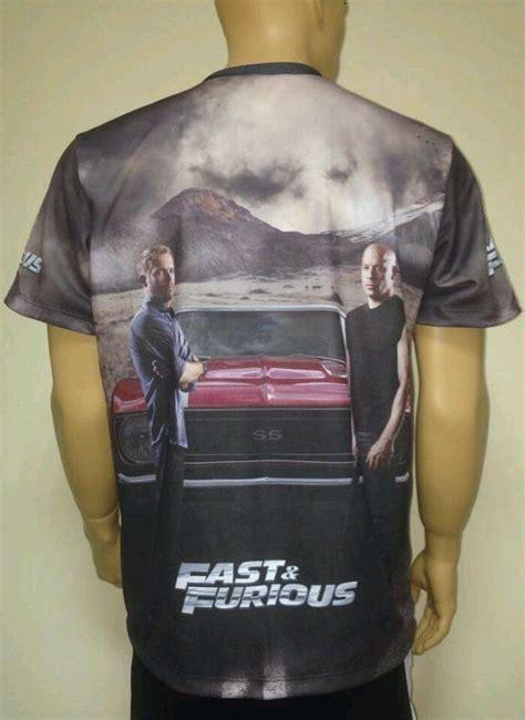 fast  furious  shirt  logo    printed