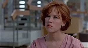 Molly Ringwald Middle Finger GIF - Find & Share on GIPHY
